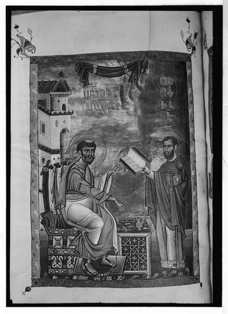 Ancient MSS. [i.e., manuscript]. Illuminations & miniatures