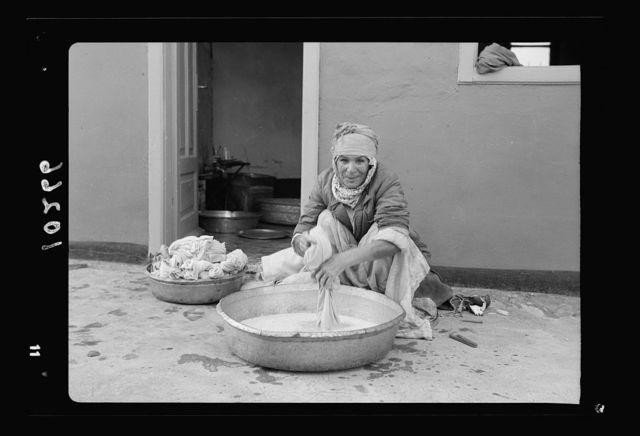 Bokhara [i.e., Bukharan Jewish] washwoman