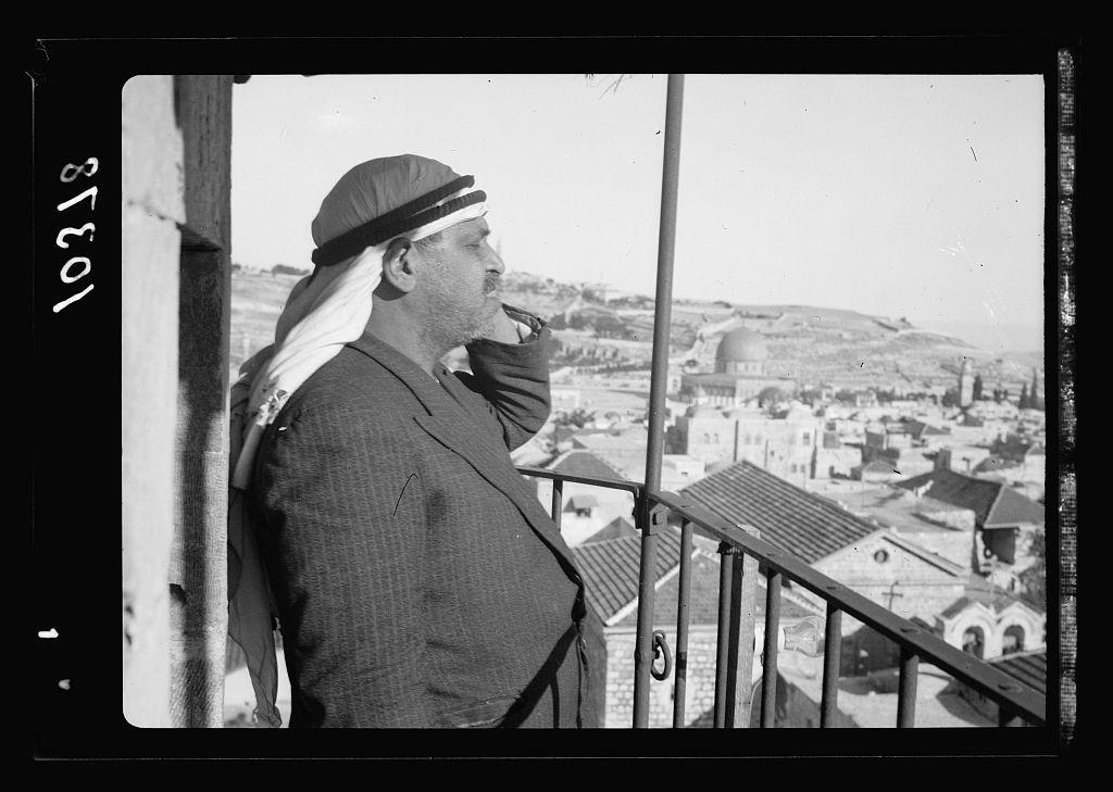 Calling to prayer from Saladin's Tower [Jerusalem]