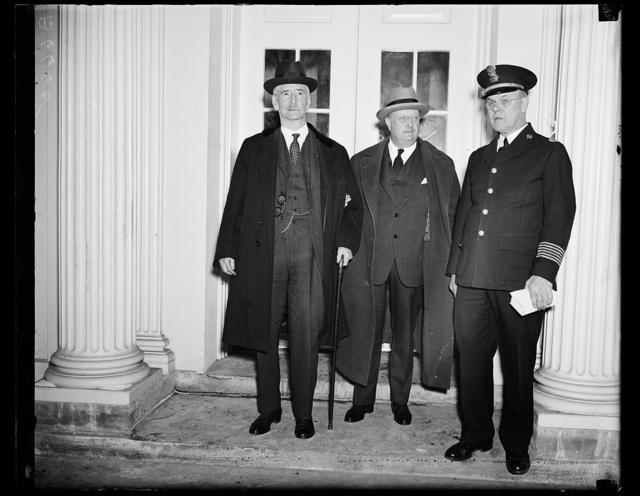 [Claude Swanson, left. White House, Washington, D.C.]