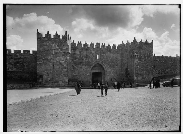 Damascus Gate after clearance