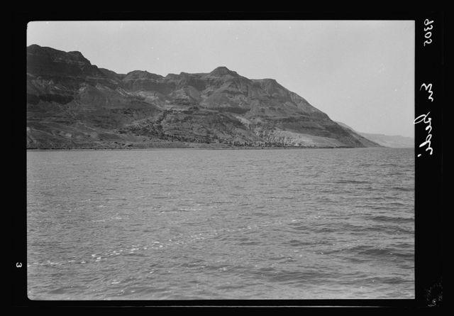 Dead Sea Album, prepared for the Palestine Potash Ltd. 'Ein Jiddy on the western coast