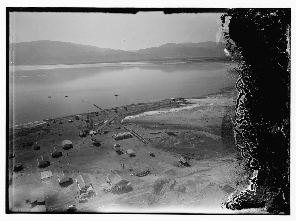 [Dead Sea album prepared for the Palestine Potash Ltd. Palestine Potash camp at Usdum]