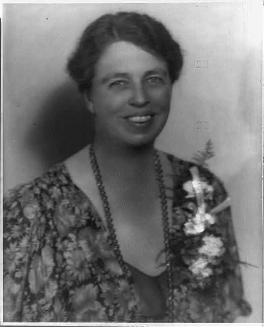 [Eleanor Roosevelt Roosevelt, 1884-1962, bust portrait, facing right]