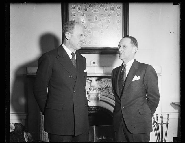 [Henry Morgenthau and Harry Hopkins?]