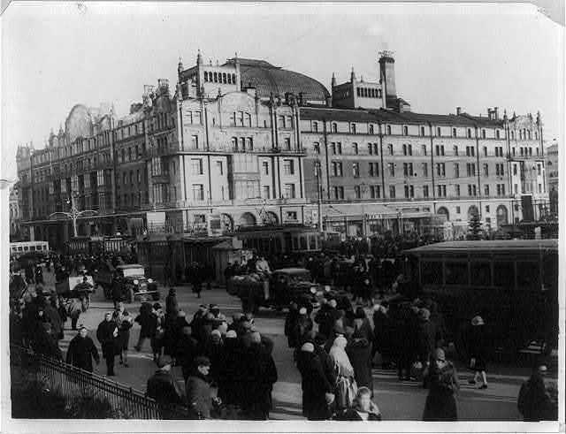 "Hotel ""Metropol"", Moscow, U.S.S.R"