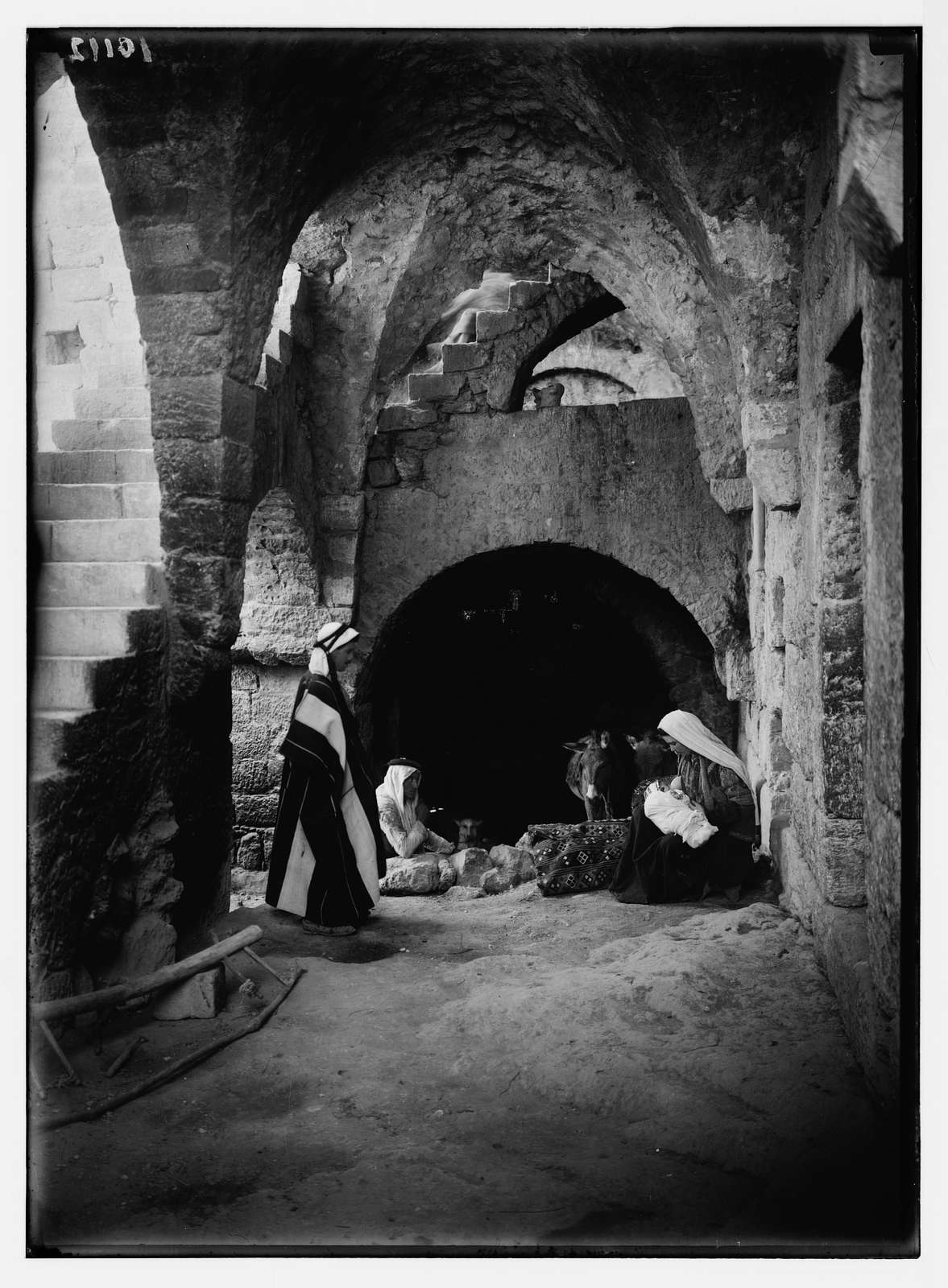 Interior of peasant home at Beit Sahur