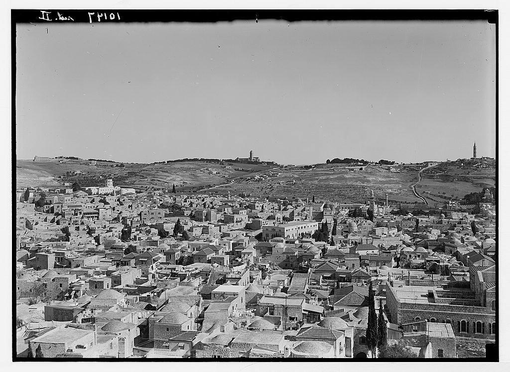 Jerusalem & Olivet