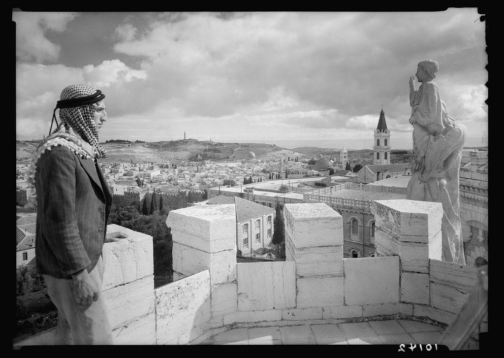 Jerusalem. View from Tower of Notre Dame de France