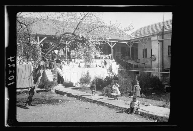 Jewish homes in tenement bldg., Bokhara [i.e., Bukhara] Quarter