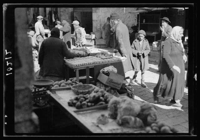 Jewish market in Mea Shearim