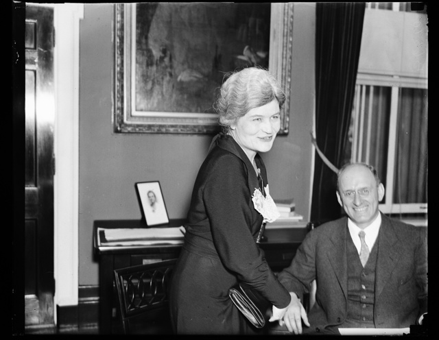 [Josephine Roche and  Henry Morgenthau]