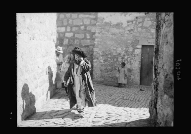 Orthodox Jew near Jews' wailing place