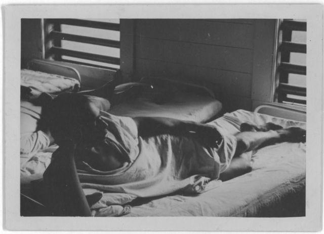Prisoner in camp hospital, Darrington State Farm, Texas