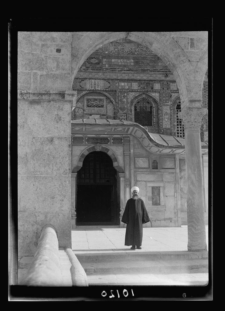 Sheikh Faik el-Insari, procurator of el-Harem Sherif