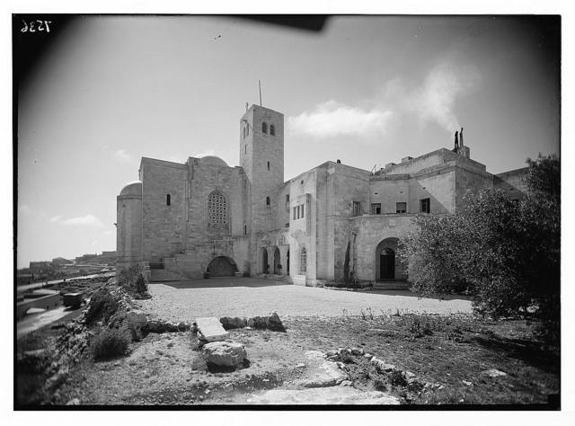 St. Andrews Church, Jerusalem. St. Andrew's from the north, closer.