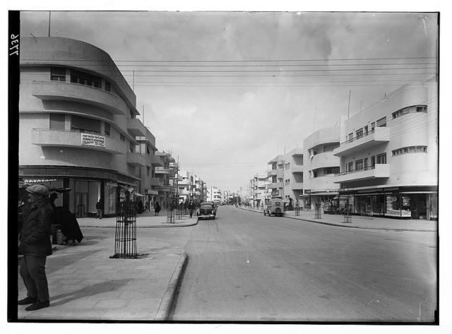 Tel Aviv. Dizengoff Street looking north.