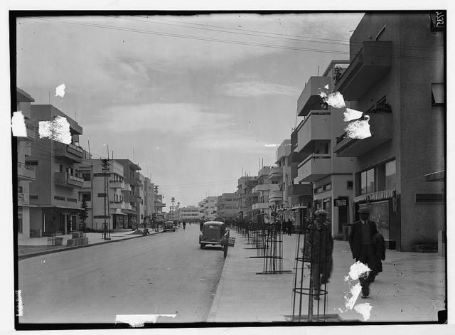 Tel Aviv. Dizengoff Street. Yarkou Street.