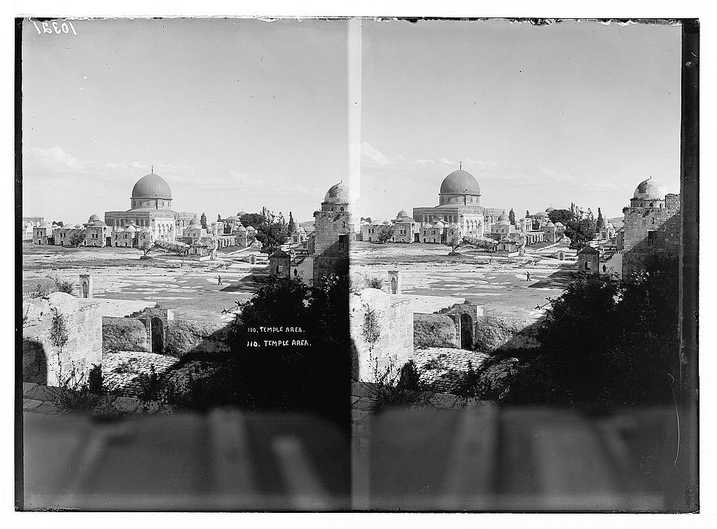 Temple area & Dome of the Rock.