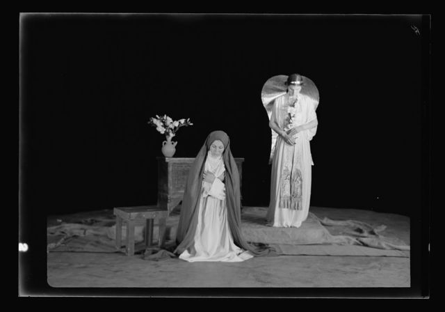 The Christmas Story, Y.M.C.A. tableaux. [The Annunciation III]