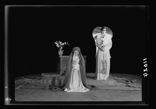 The Christmas Story, Y.M.C.A. tableaux. The Annunciation III