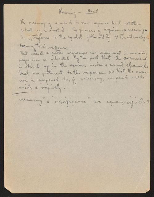 Alan Lomax Collection, Manuscripts, Education