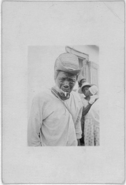 [Alexander Rolle (?), Bailiff (?), Old Bight, Cat Island, July 1935]