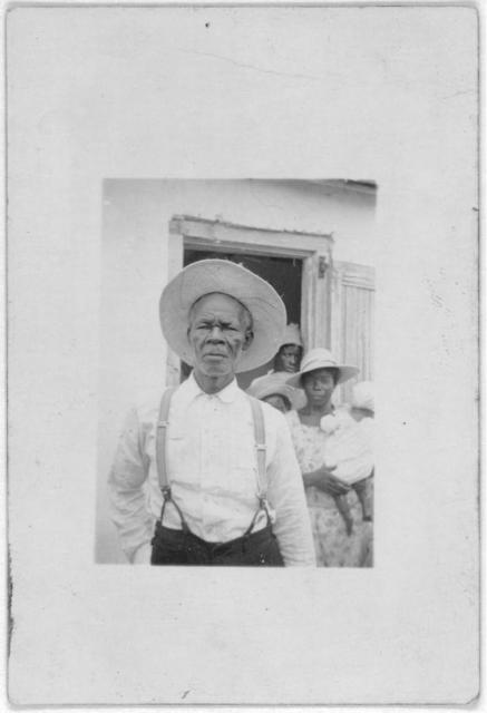 [Alexander Rolle (?), Bailiff (?), Old Bight, Cat Island, July 1935