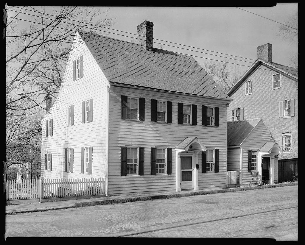 Blum House, 712-714 Main St., Winston-Salem, Forsyth County, North Carolina