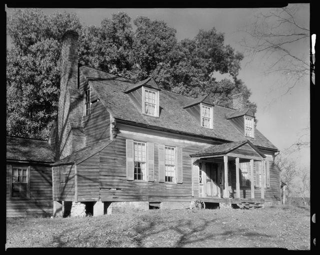 Buffalo Springs farm house, Buffalo Springs, Mecklenburg County, Virginia