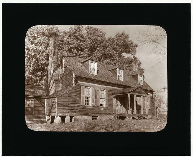 [Buffalo Springs farm house, Buffalo Springs, Mecklenburg County, Virginia. Entrance porch]