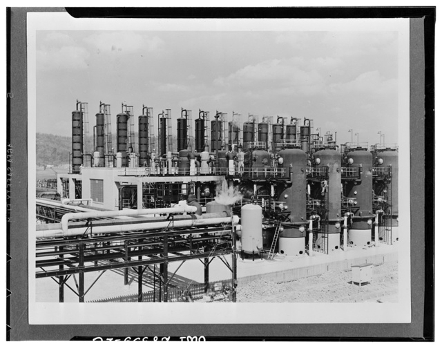 Butadiene units. General view of one of the four butadiene units of the Carbide and Carbon Chemicals Corporation at Institute, West Virginia