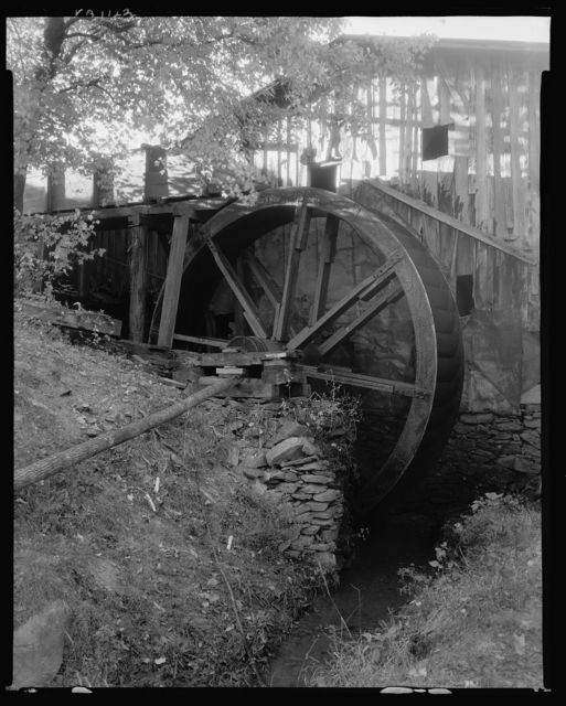 Carver's Old Mill, Gordonsville vic., Albemarle County, Virginia