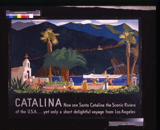 Catalina: Now see Santa Catalina, the Scenic Riviera of the U.S.A. ... yet only a short delightful voyage from Los Angeles / / Shepard.