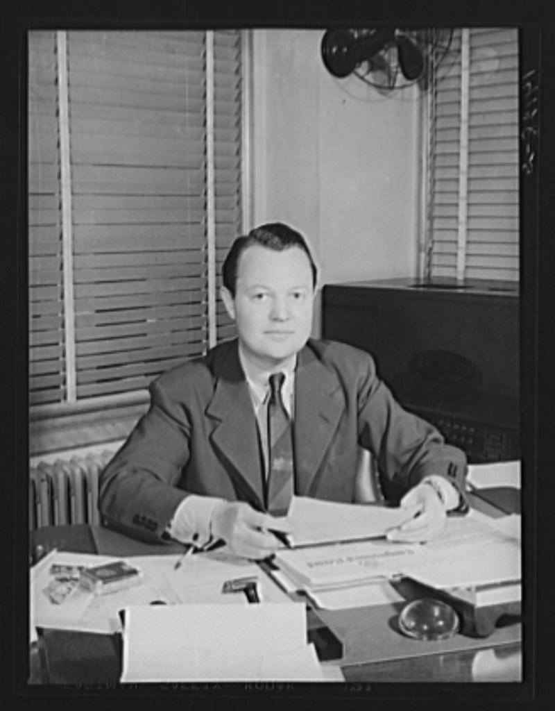 C.B. Baldwin, Administrator, Farm Security Administration