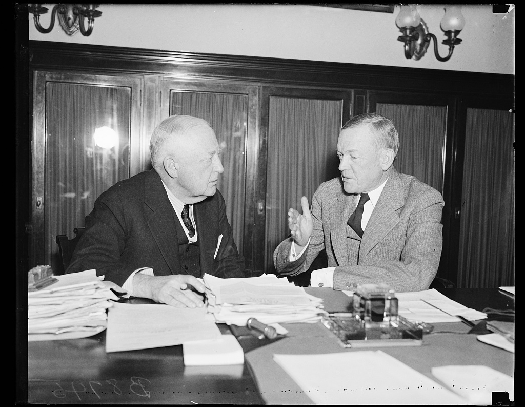 [Charles L. McNary, right]