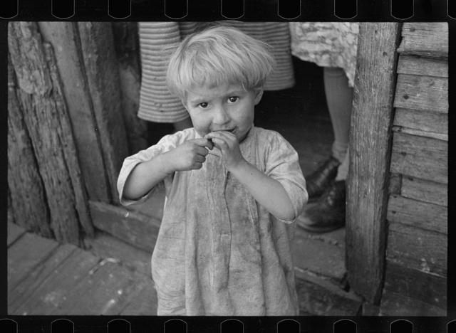 Child living in Corbin Hollow, Virginia