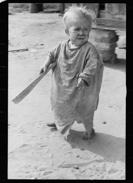 Child of North Carolina sharecropper