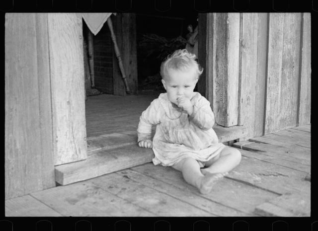 Child of North Carolina sharecropper, North Carolina
