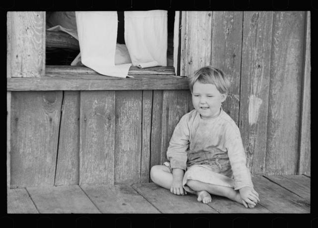 Child of sharecropper, North Carolina