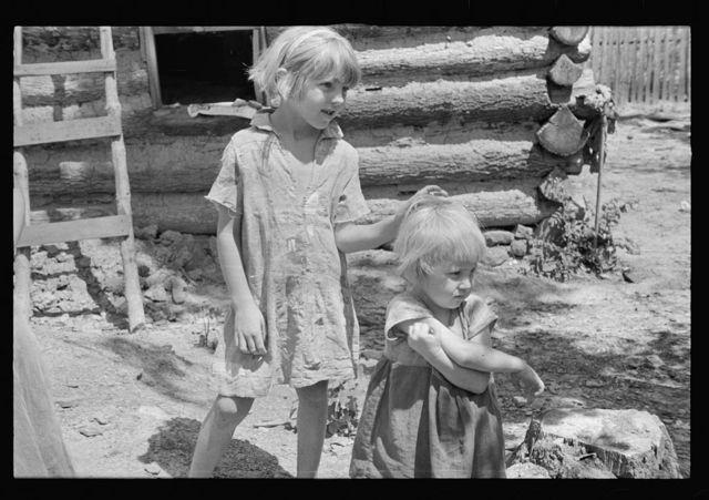 Children of rehabilitation client resettled in the Ozark Mountains