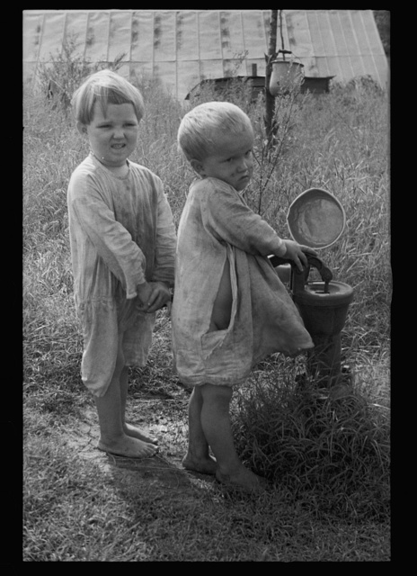 Children of sharecropper, North Carolina