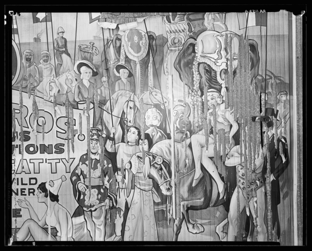 Circus poster. Alabama