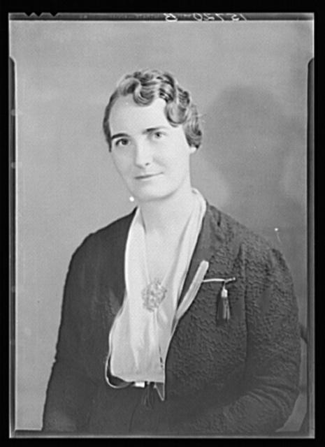 Clara B. Thompson, Director of Home Economics, Farm Security Administration