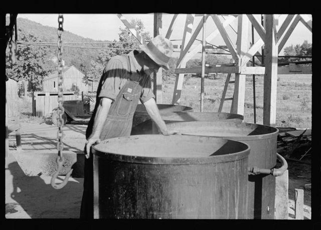 Commercial canning kitchen near Huntsville, Arkansas