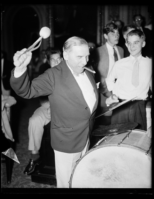 [Congressional musicians, gave the House a treat last night, by playing a number of old tunes. 8/27/35]