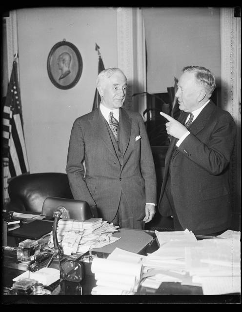 [Cordell Hull, left]