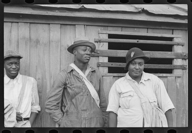 Cotton pickers receiving sixty cents a day, Pulaski County, Arkansas