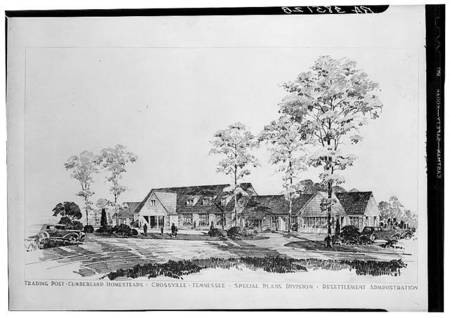 Cumberland Homesteads. Crossville, Tennessee