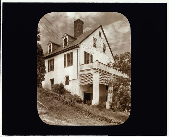 [Customs House, Tappahannock, Essex County, Virginia. Porch]